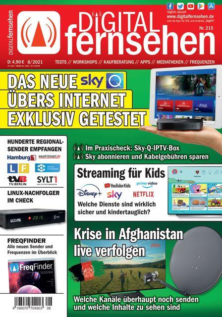 DIGITAL FERNSEHEN Ausgabe 08/2021