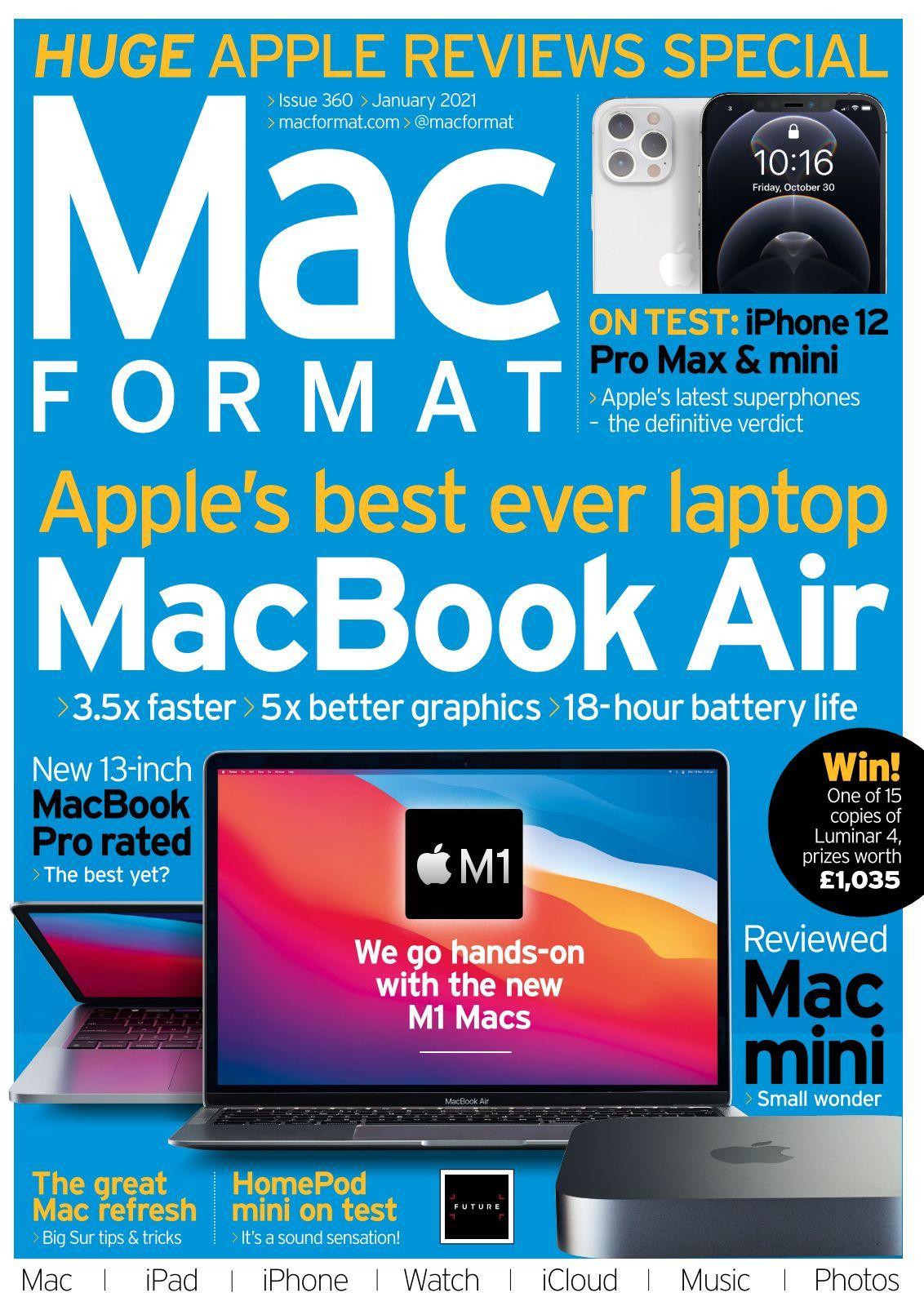 MacFormat - issue 01/2021