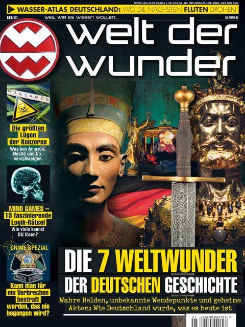 Welt der Wunder Ausgabe 10/2021
