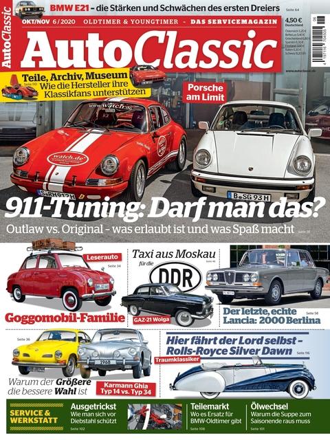 Auto Classic Ausgabe 06/2020