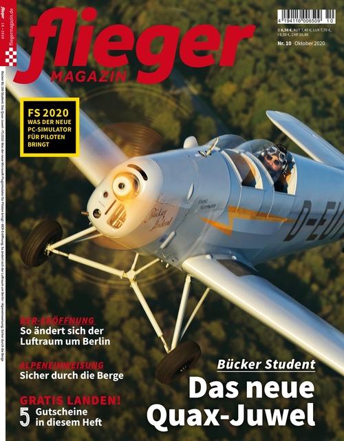 fliegermagazin Ausgabe 10/2020