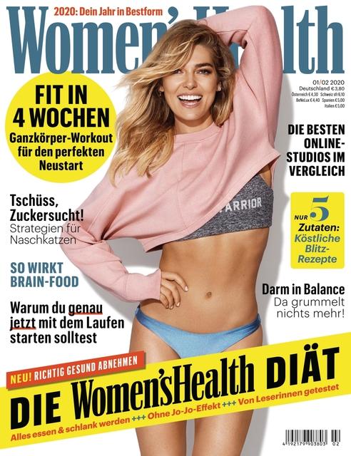 WOMEN'S HEALTH Ausgabe 01-02/2020