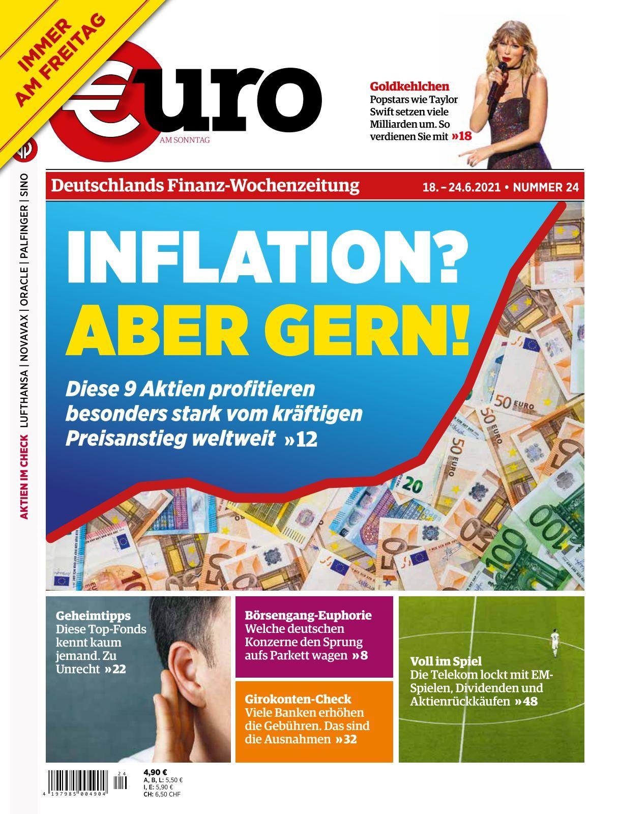 Euro am Sonntag   21 21 21