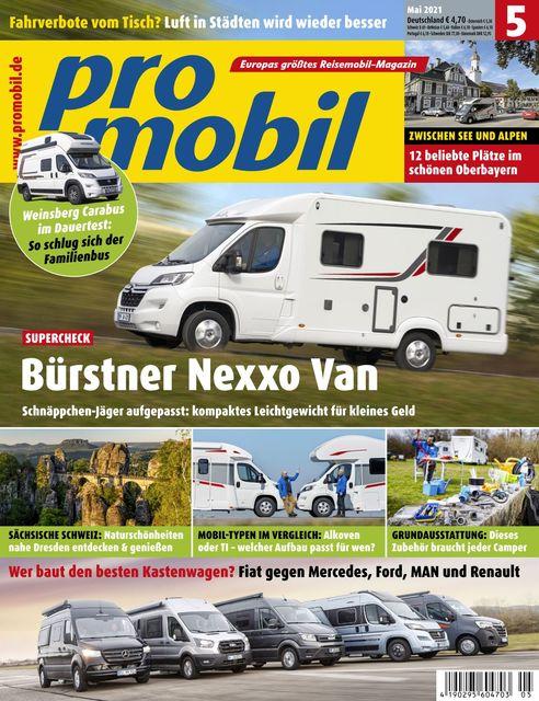 Promobil Ausgabe 05/2021