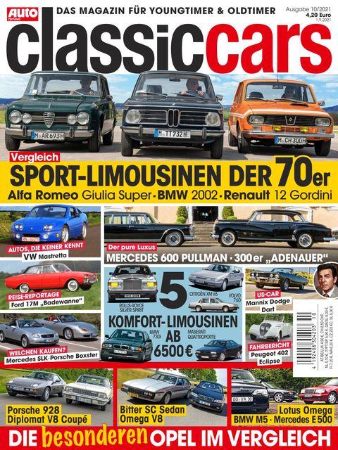 AUTO ZEITUNG classic cars Ausgabe 10/2021