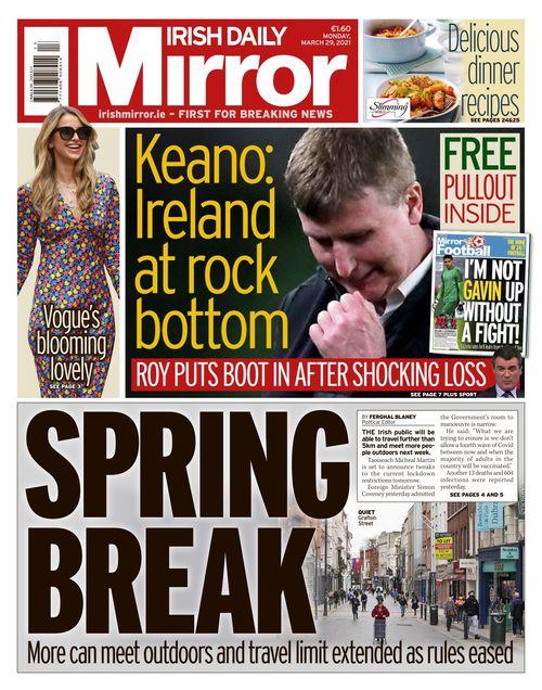 Irish Daily Mirror 2021-03-29