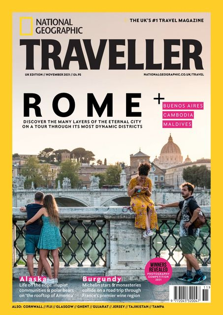 National Geographic Traveller (UK) issue 97, 11/2021