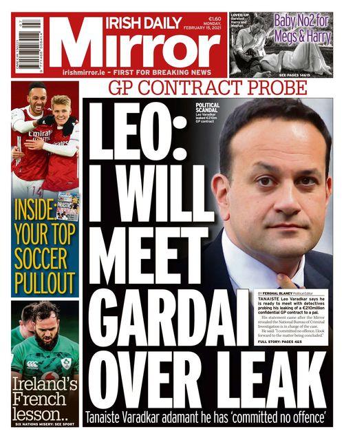 Irish Daily Mirror 2021-02-15