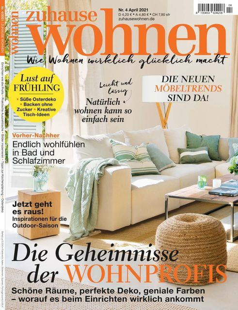 Zuhause Wohnen Ausgabe 04/2021