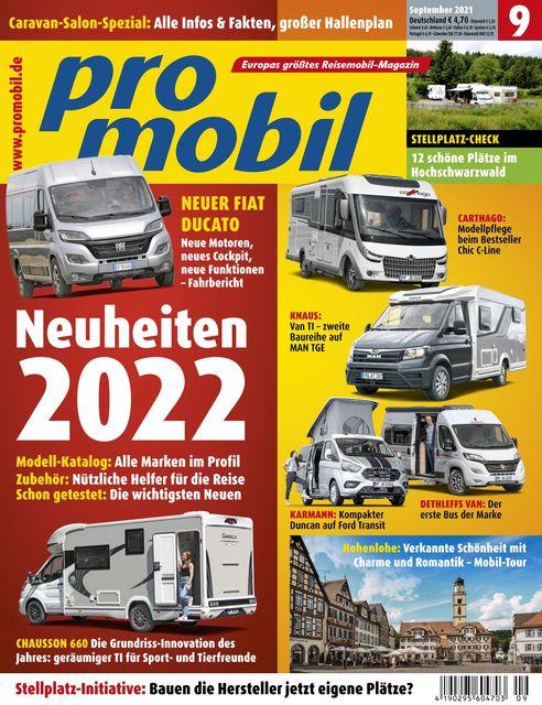 Promobil Ausgabe 09/2021