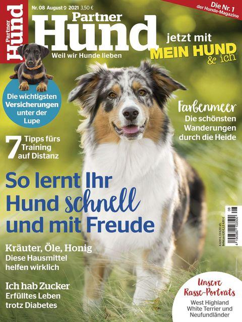 Partner Hund Ausgabe 08/2021