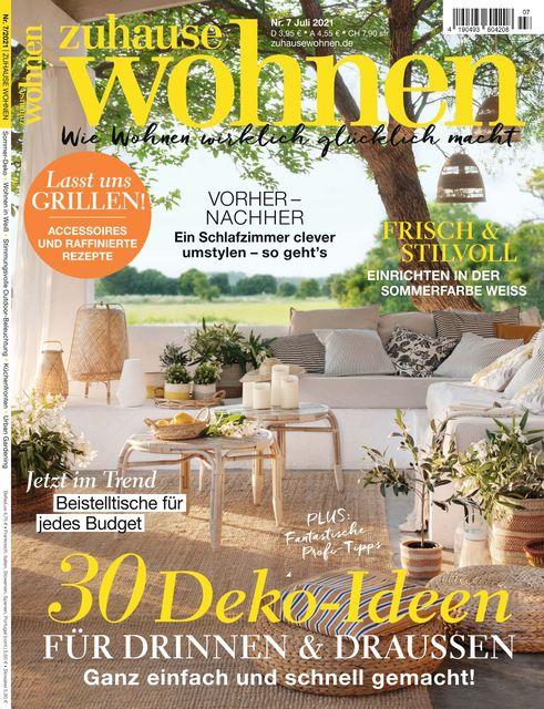 Zuhause Wohnen Magazin Ausgabe 07/2021