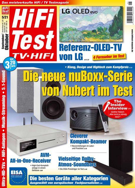 HiFi Test TV • HiFi Ausgabe 05/2021