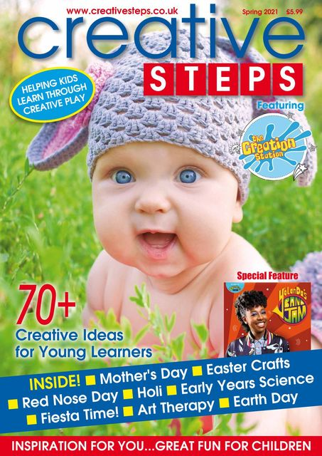 Creative Steps issue Spring 2021