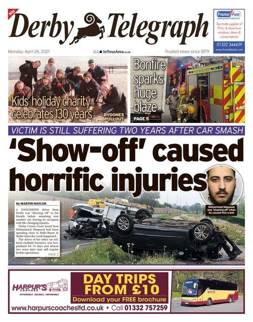 Derby Telegraph 2021-04-26