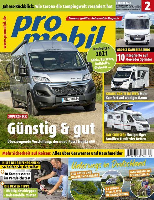 Promobil Ausgabe 02/2021