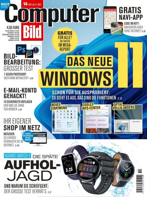 COMPUTER BILD Ausgabe 14/2021