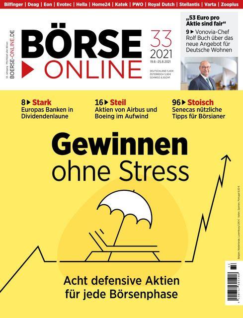 Börse Online Ausgabe 33/2021