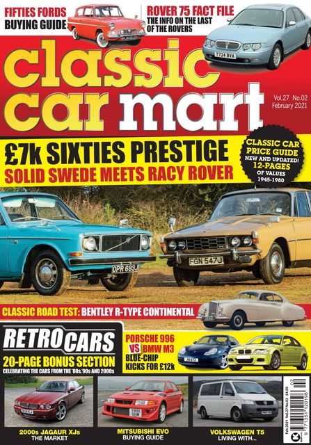 Classic Car Mart issue 02/2021