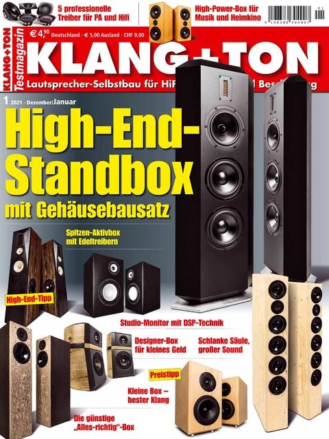 KLANG+TON Ausgabe 01/2021