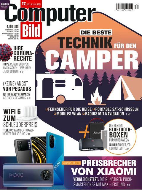 COMPUTER BILD Ausgabe 17/2021