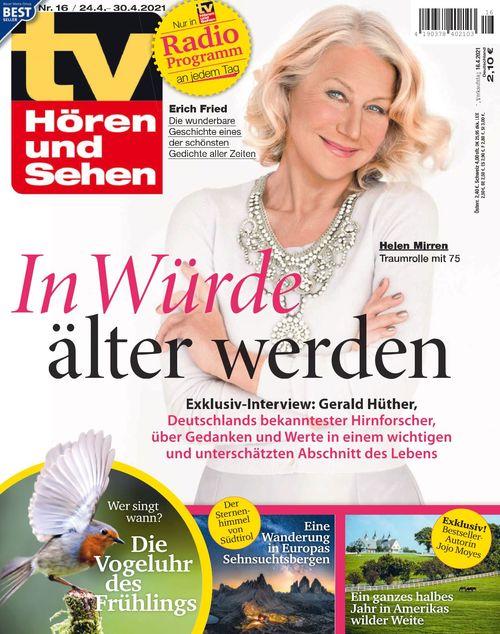 TV Hören und Sehen Ausgabe 16/2021
