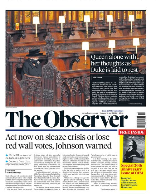 The Observer 2021-04-18