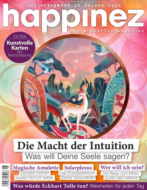 Happinez Ausgabe 8/2021