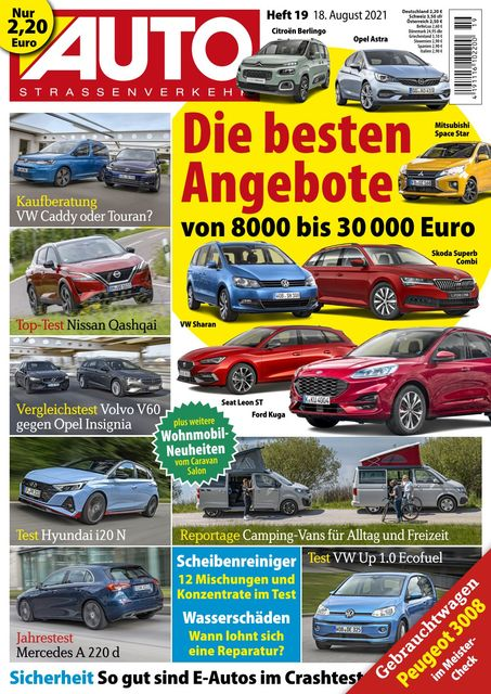 Auto Straßenverkehr 2021-08-18