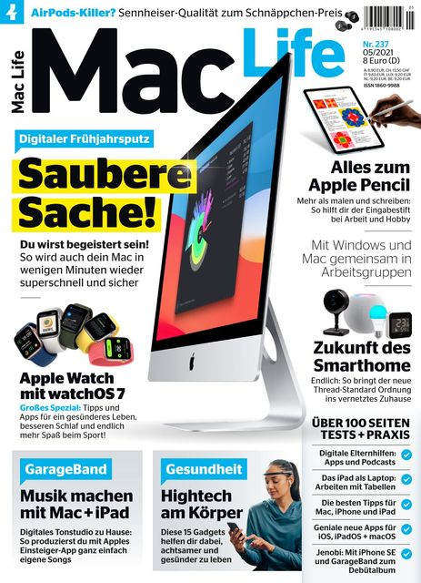 Mac Life Ausgabe 05/2021