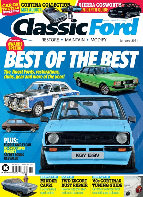 Classic Ford issue 01/2021