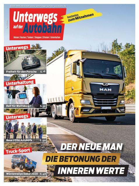 Unterwegs auf der Autobahn Ausgabe 01/2020