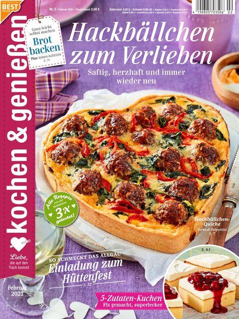 Kochen und Genießen Ausgabe 2/2021