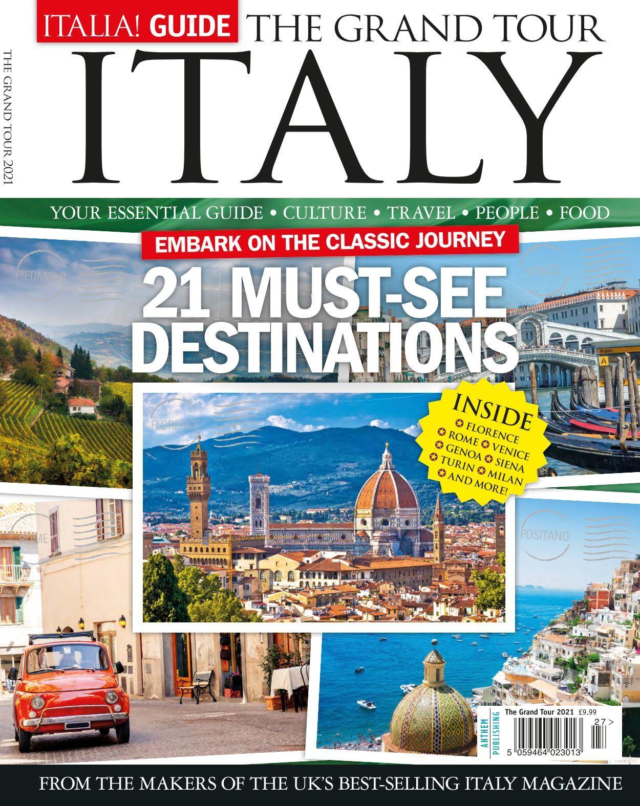 Italia Guide The Grand Tour 2021