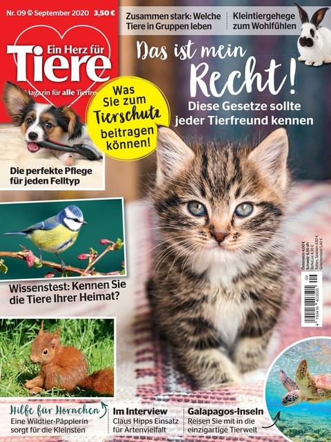 Ein Herz für Tiere Ausgabe 09/2020