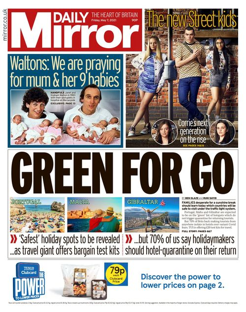 Daily Mirror 2021-05-07