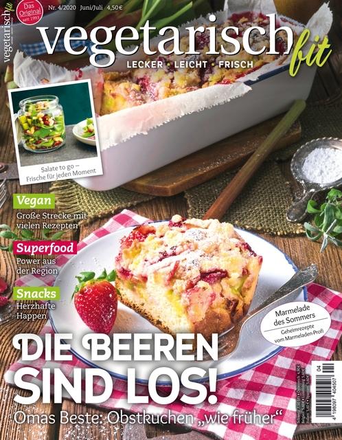 Vegetarisch fit Ausgabe 04/2020