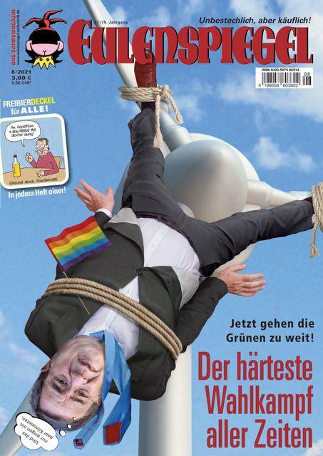 EULENSPIEGEL Ausgabe 08/2021