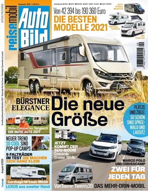 AUTO BILD Reisemobil 2020-08-14