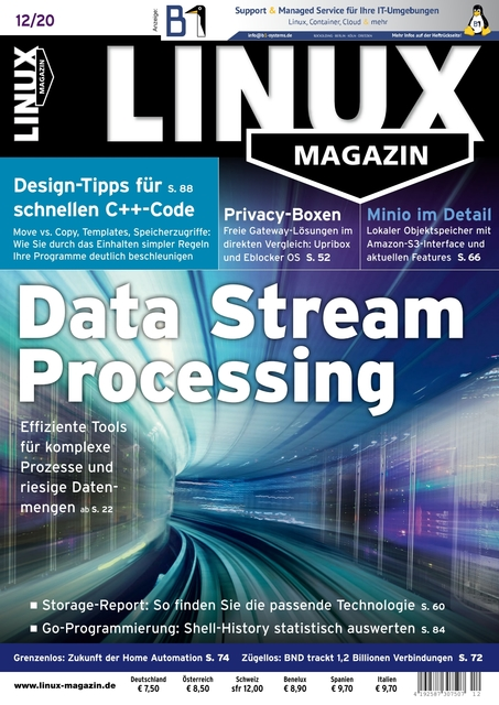 Linux Magazin Ausgabe 12/2020