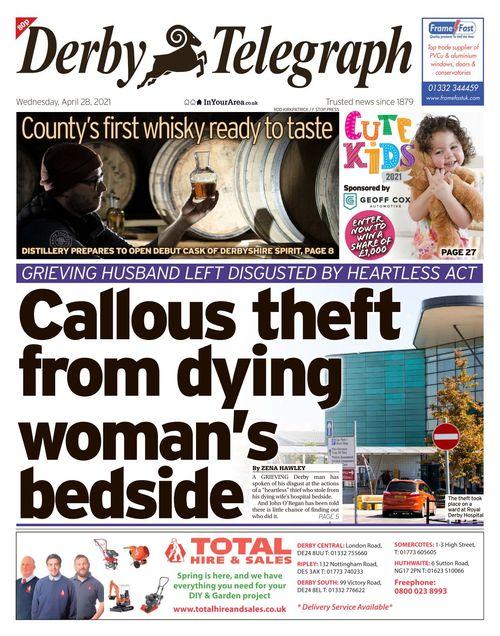 Derby Telegraph 2021-04-28