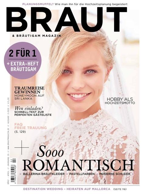 Braut & Bräutigam Ausgabe 02/2020