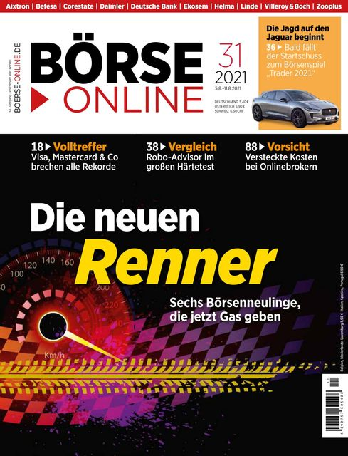 Börse Online Ausgabe 31/2021
