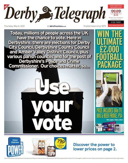 Derby Telegraph 2021-05-06