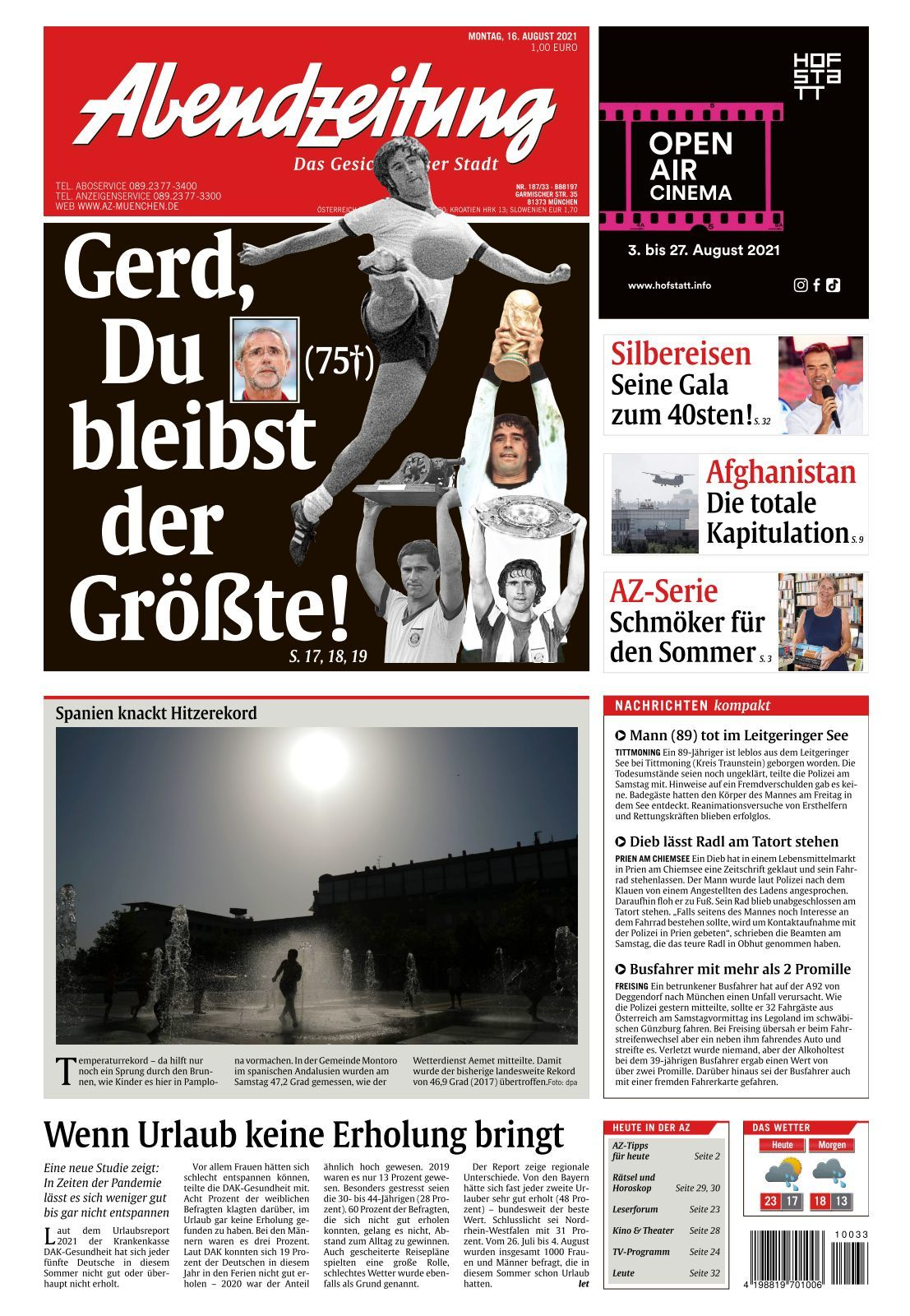 Abendzeitung   20 20 20