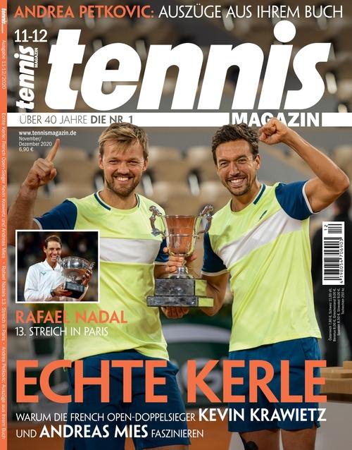 tennis MAGAZIN Ausgabe 12/2020