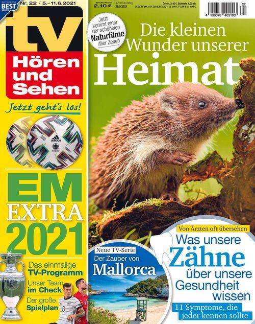 TV Hören und Sehen Ausgabe 22/2021