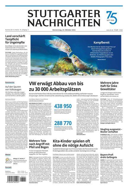 Stuttgarter Nachrichten 2021-10-14