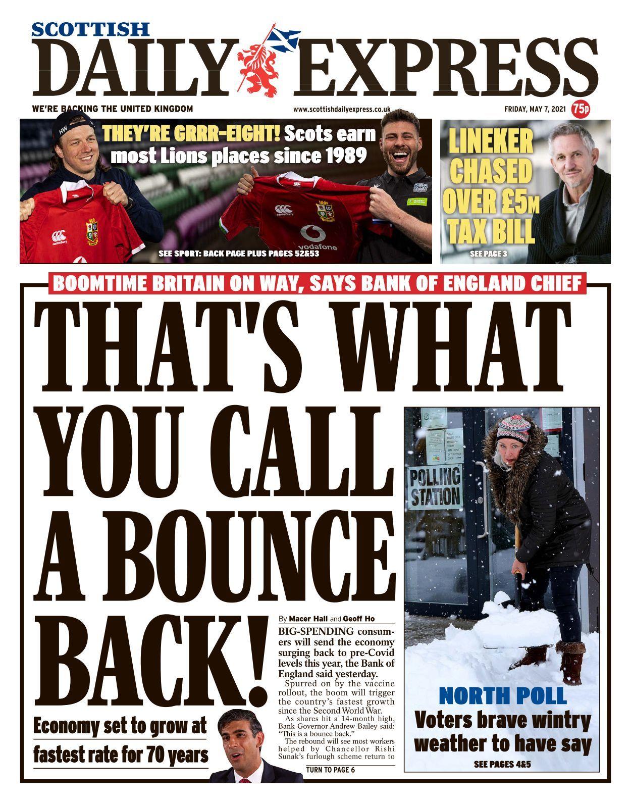Scottish Daily Express - 15-15-15