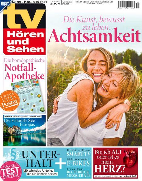 TV Hören und Sehen Ausgabe 39/2021